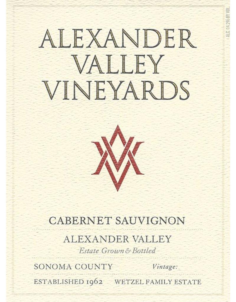 Cabernet Sauvignon, Alexander Valley Vineyards, CA, 2015