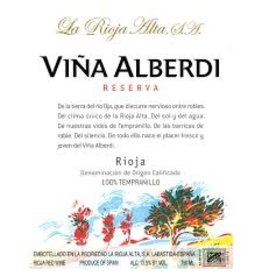 """Wine Tempranillo """"Rioja Reserva"""", Vina Alberdi, ES, 2010 (375ml)"""
