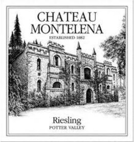 "Wine Riesling ""Potter Valley"", Chateau Montelena, Calistoga, CA, 2013"