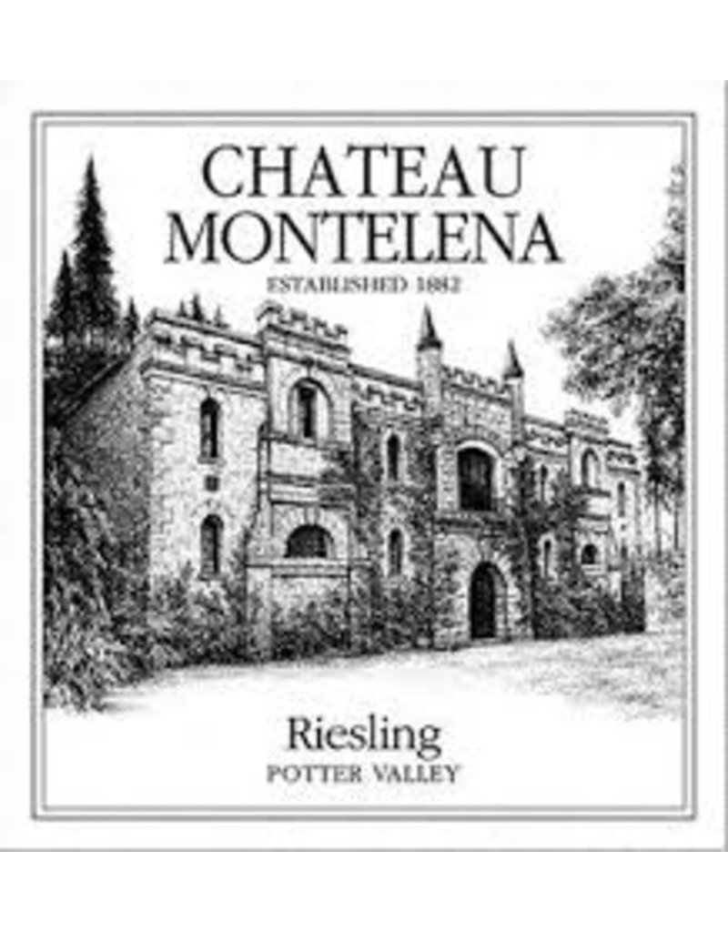 """Wine Riesling """"Potter Valley"""", Chateau Montelena, Calistoga, CA, 2015"""