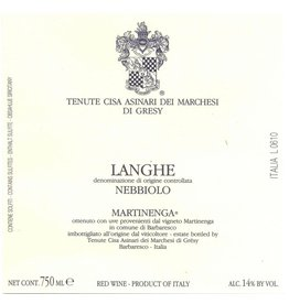 "Wine Nebbiolo ""Martinenga"", Di Gresy, Langhe, IT, 2013"