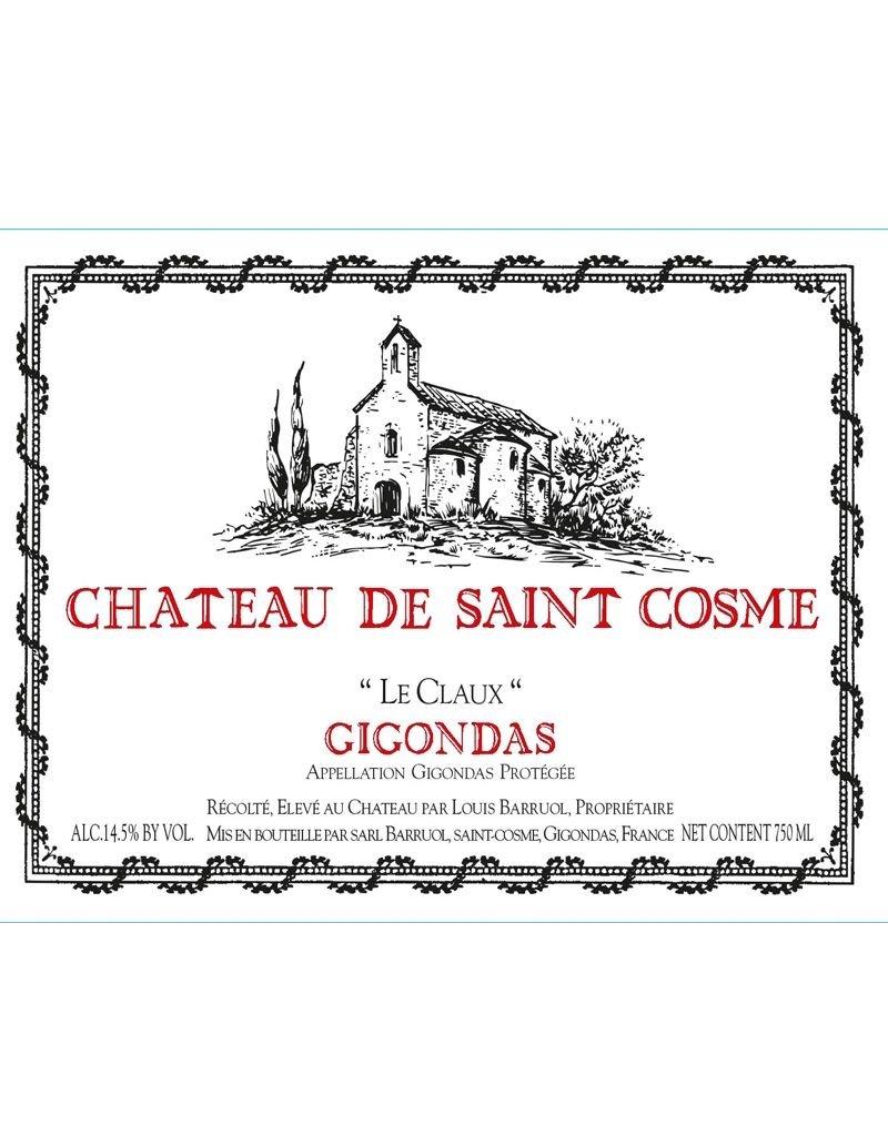 """Wine Gigondas """"Le Claux"""", Chateau de Saint Cosme, FR, 2013"""