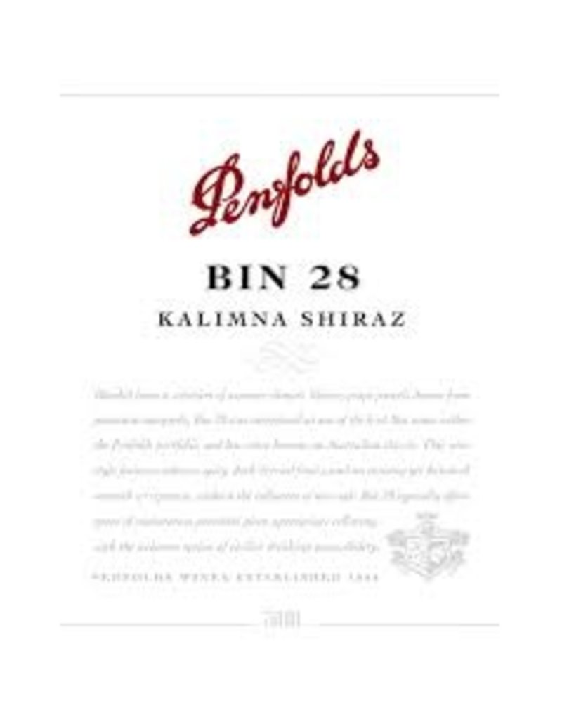 "Wine Shiraz ""Bin 28 Kalimna"", Penfolds, South Australia, 2011"