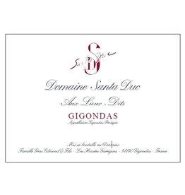 """Wine Gigondas """"Aux Lieux-Dits"""", Santa Duc, FR, 2012"""