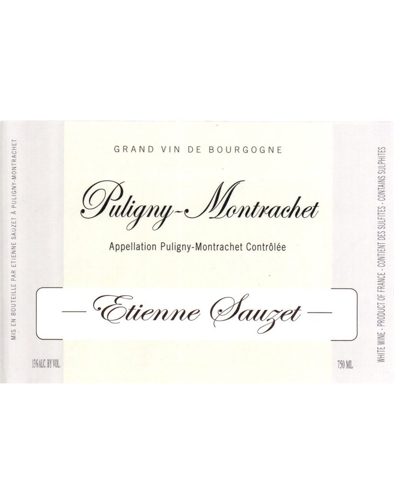 Wine Puligny-Montrachet, Etienne Sauzet, Burgundy, FR, 2014