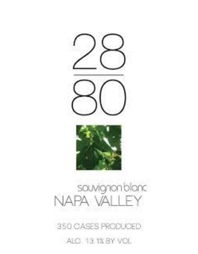 Wine Sauvignon Blanc, 2880, Napa Valley, CA, 2014,