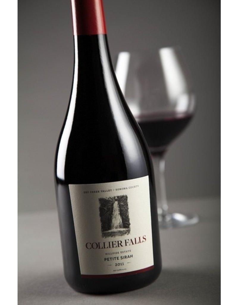 Wine Petite Sirah, Collier Falls Vineyards, Dry Creek Valley, CA, 2011