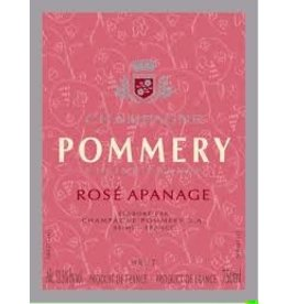 "Wine Champagne ""Rose Apanage"", Pommery, FR, NV"