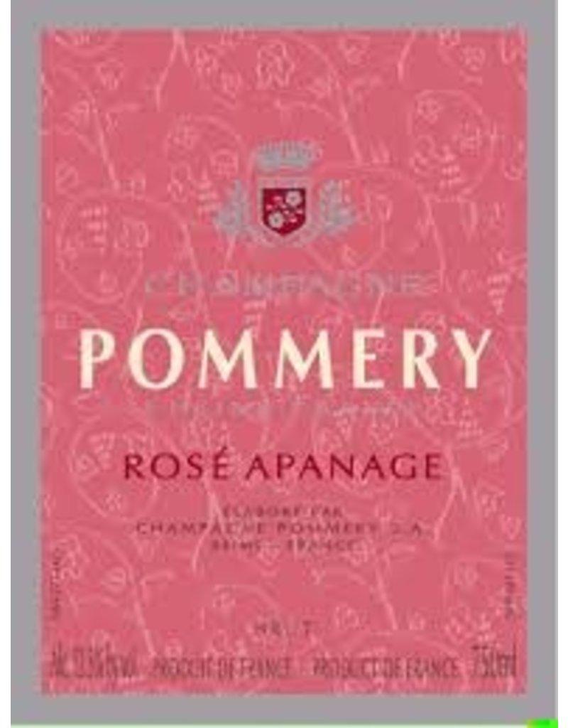 "Wine Champagne ""Rose Apanage"", Pommery, FR, NV"
