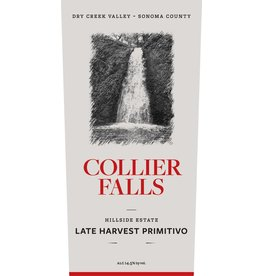 "Wine Primitivo ""Late Harvest"", Collier Falls Vineyards, Dry Creek Vally, CA, 2011 (375ml)"
