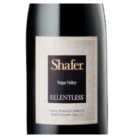 "Wine Syrah Blend ""Relentless"", Shafer, Napa Valley, CA, 2014"