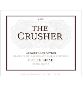 "Wine Petite Sirah ""GrowerÕs Selection"", The Crusher, Clarksburg, CA, 2013"