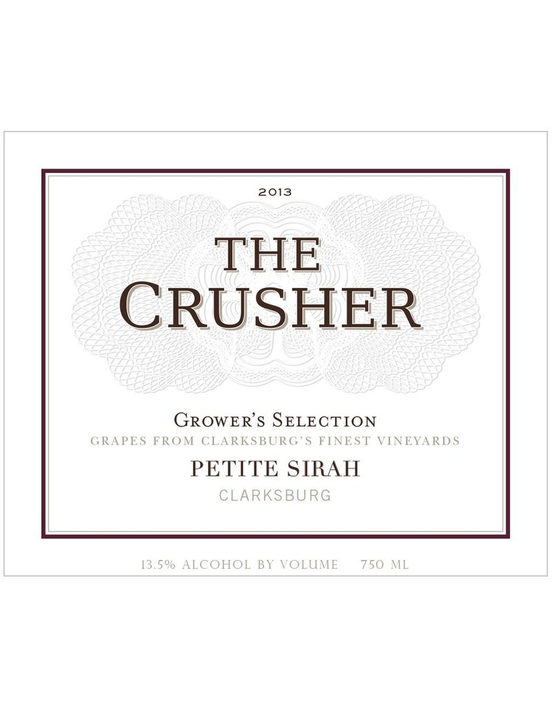 "Petite Sirah ""GrowerÕs Selection"", The Crusher, Clarksburg, CA, 2014"