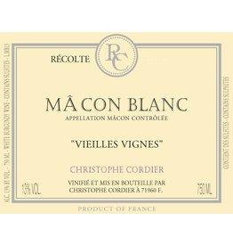 """Wine Macon """"Vieilles Vignes"""", Christophe Cordier, FR, 2014"""