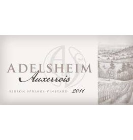 Wine Auxerrois, Adelsheim, Willamette Valley, OR, 2011