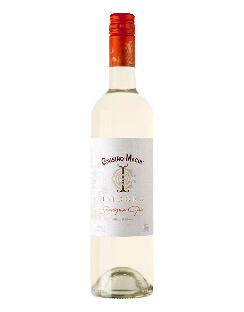 "Wine Sauvignon Gris ""Isidora"", Cousino-Macul, Maipo Valley, CL, 2014"