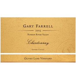"Wine Chardonnay ""Olivet Lane"", Gary Farrell, Russian River Valley, CA, 2013"