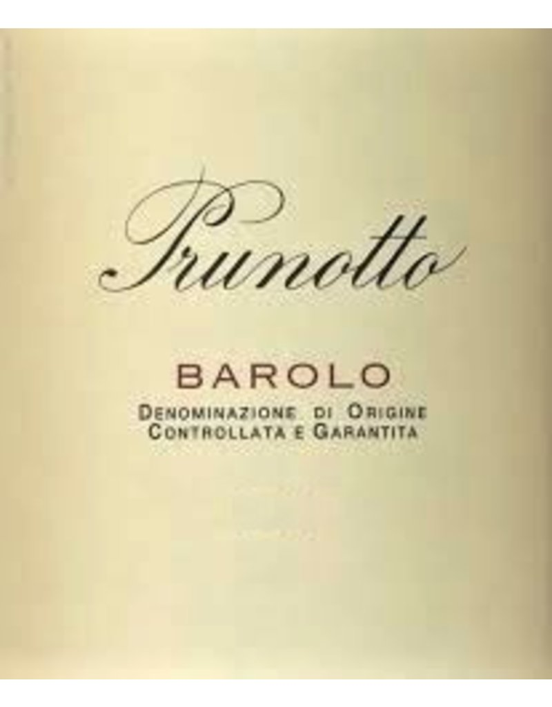 Wine Barolo, Prunotto, Piedmont, IT, 2010