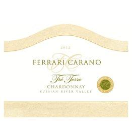 """Wine Chardonnay """"Tre Terre"""", Ferrari Carano, Russian River Valley, CA, 2012"""