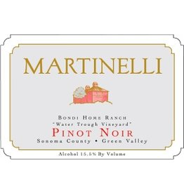 "Wine Pinot Noir ""Bondi Home Ranch"", Martinelli, Green Valley, CA, 2014"