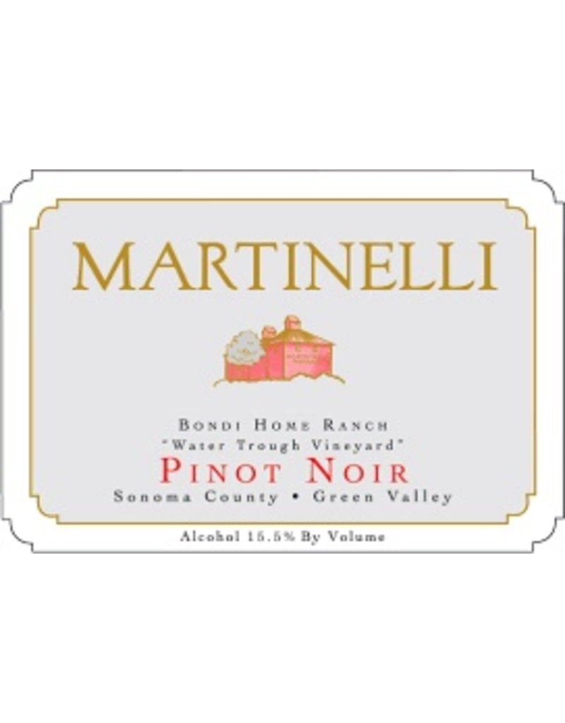 "Wine Pinot Noir ""Bondi Home Ranch"", Martinelli, Green Valley, CA, 2014"