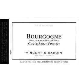 """Wine Bourgogne Blanc """"Cuvee St Vincent"""", Vincent Girardin, FR, 2012"""