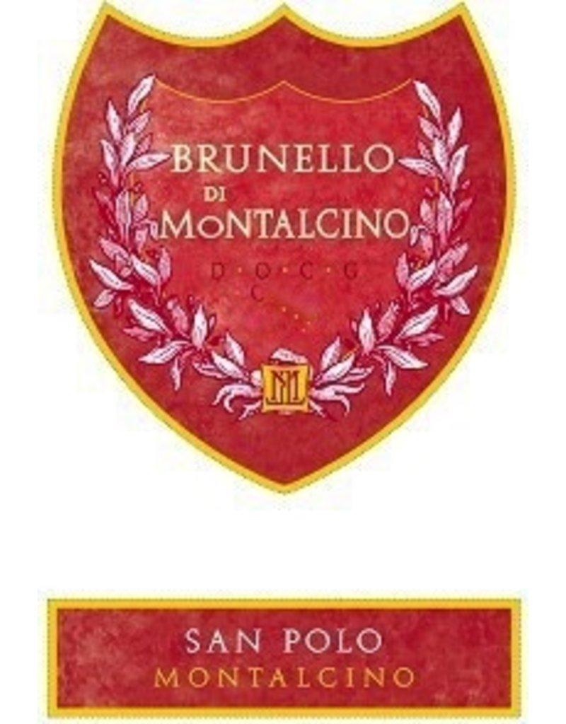 Wine Brunello di Montalcino, San Polo, Tuscany, IT, 2012