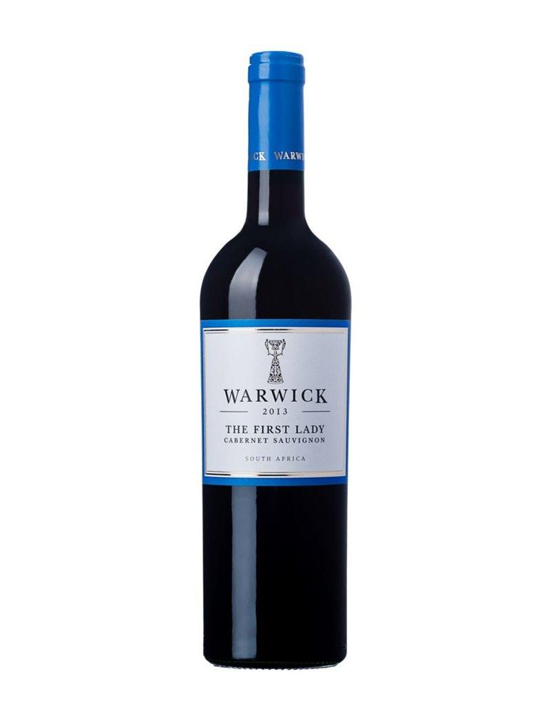 """Wine Cabernet Sauvignon """"The First Lady"""", Warwick Estate, ZA, 2015"""