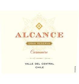 """Wine Carmenere """"Gran Reserva"""", Alcance, Valle del Maule, CL, 2014"""
