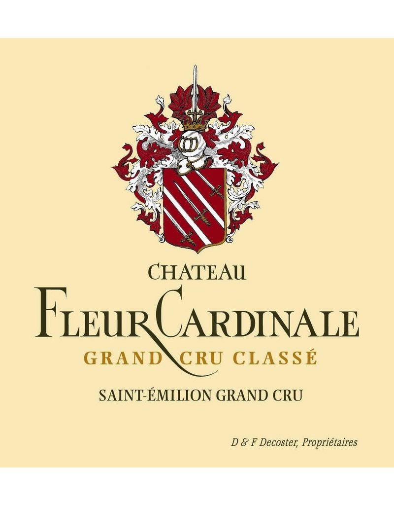 "Chateau Fleur Cardinale ""Grand Cru Classe"", St. Emilion, FR, 2012"