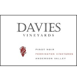 "Wine Pinot Noir ""Ferrington Vineyards"", Davies Vineyards, Anderson Valley, CA, 2012"