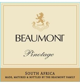 Wine Pinotage, Beaumont Family, Bot River, ZA, 2014