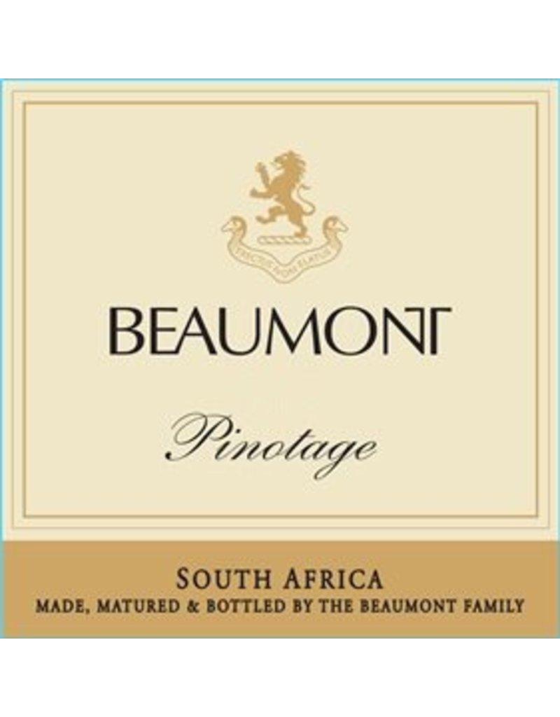 Wine Pinotage, Beaumont Family, Bot River, ZA, 2013
