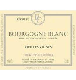 """Bourgogne Blanc """"Vieilles Vignes"""", Christophe Cordier, FR, 2015"""