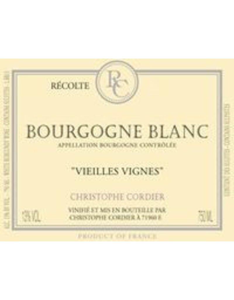 """Wine Bourgogne Blanc """"Vieilles Vignes"""", Christophe Cordier, FR, 2015"""