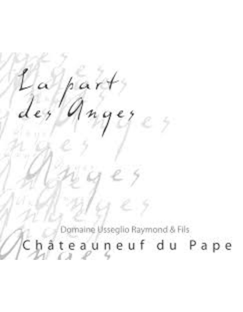 "Wine Chateauneuf du Pape ""La Part des Anges"", Usseglio Raymond, 2011"