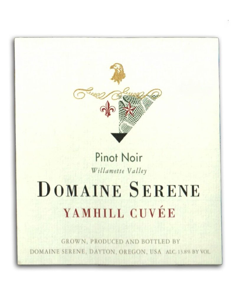 """Pinot Noir """"Yamhill Cuvee"""", Domaine Serene, Willamette Valley, OR, 2014"""