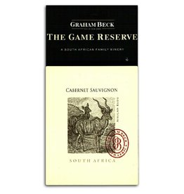 "Wine Cabernet Sauvignon ""Game Reserve"", Graham Beck, ZA, 2014"