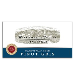 Wine Pinot Gris, Willamette Valley Vineyards, Willamette, OR, 2015