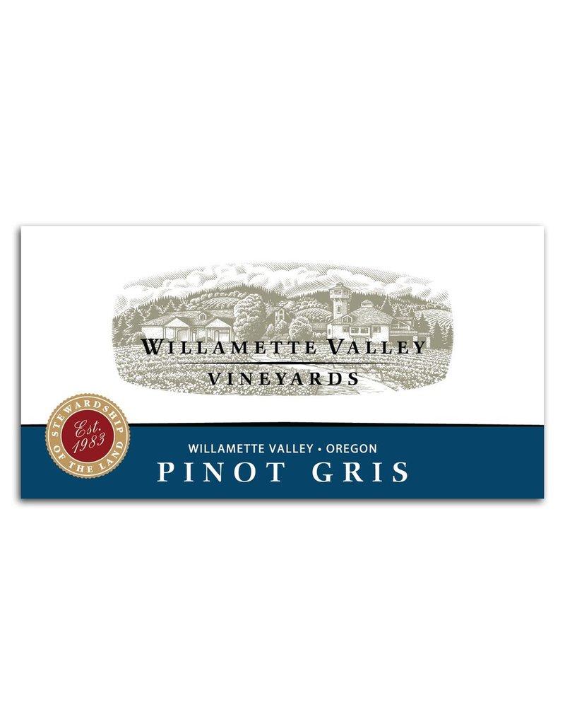 Wine Pinot Gris, Willamette Valley Vineyards, Willamette, OR, 2015