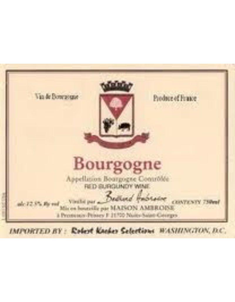 Wine Bourgogne Rouge, Bertrand Ambroise, FR, 2014