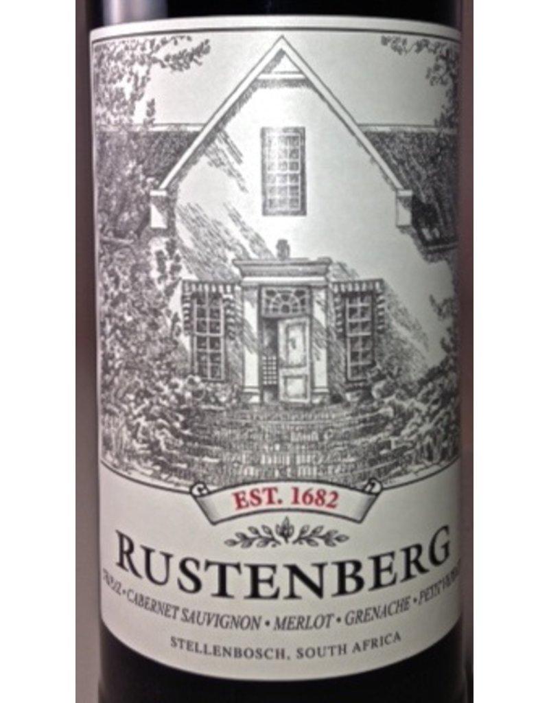 """Wine Red Blend """"1682"""", Rustenberg, ZA, 2012"""