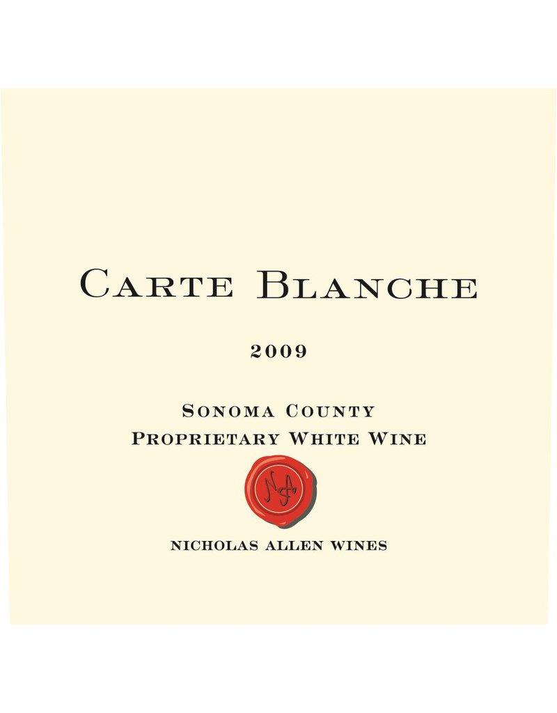 """Wine White Blend """"Proprietary White"""", Carte Blanche, Napa Valley, CA,  2009"""