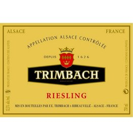 Wine Riesling, Trimbach, Alsace, FR, 2012