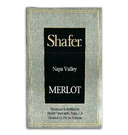 Wine Merlot, Shafer Vineyards, Napa Valley, CA, 2014 (375ml)