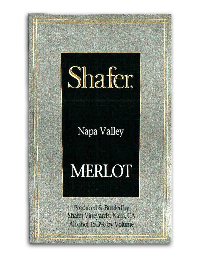 Wine Merlot, Shafer Vineyards, Napa Valley, CA, 2013 (375ml)