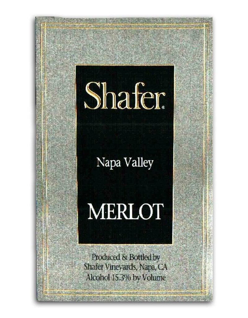 Wine Merlot, Shafer Vineyards, Napa Valley, CA, 2014 (375ml)