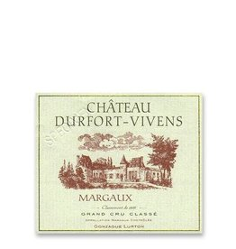 Futures 2009 Chateau Durfort Vivens, Margaux, FR, 2009