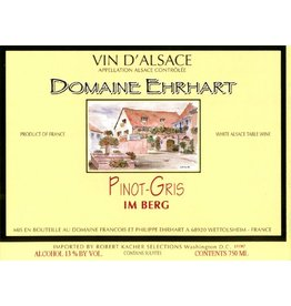 "Wine Pinot Gris ""Im Berg"", Domaine Ehrhart, Alsace, FR, 2013"