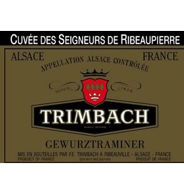 "Wine Gewurztraminer ""Vendanges Taardives"", Trimbach, FR, 1998"